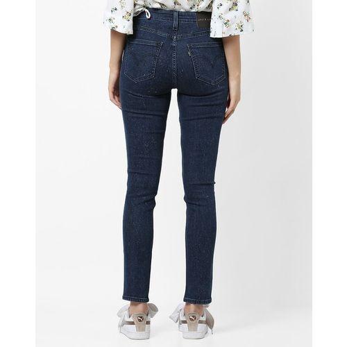 LEVIS Mid-Rise Slim Fit Jeans