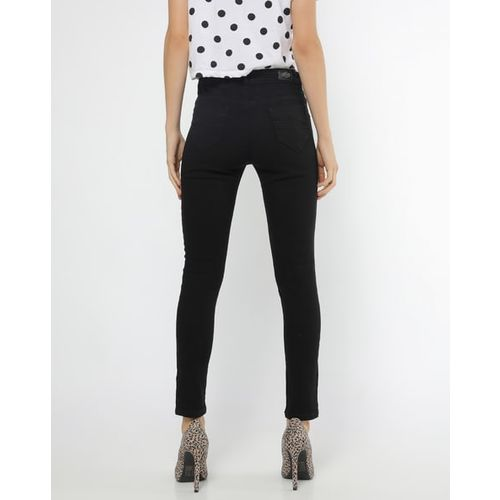 Devis High-Rise Skinny Jeans with Pockets