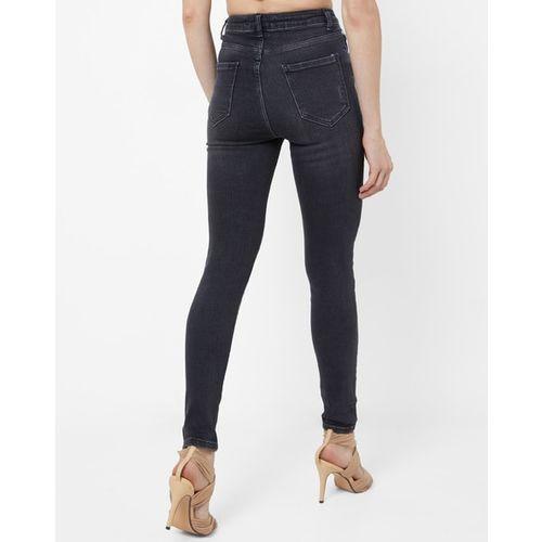 TRENDYOL Mid-Rise Skinny Jeans with Belt Loops