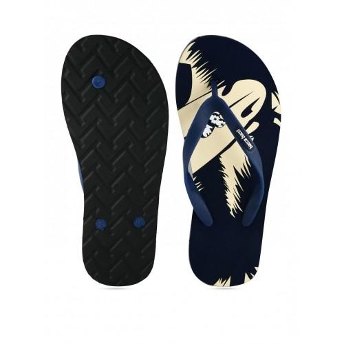 Bacca Bucci Blue & Beige Flip Flops