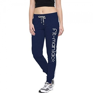 So Sweety Women's Cotton Navy Blue Track Pant/Sports Track Pant/Gym Pant