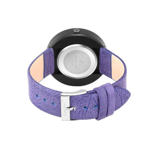 Lamkei Women Purple Analogue Watch LAM-1152