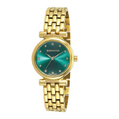 GIORDANO Women Gold-Toned Analogue Watch GD-4009-44