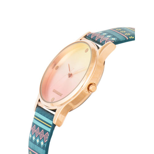 Chumbak Women Rose Gold Analogue Watch 8907605068942