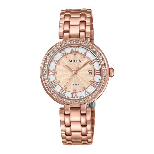 CASIO Women Rose Gold Analogue Watch SX247
