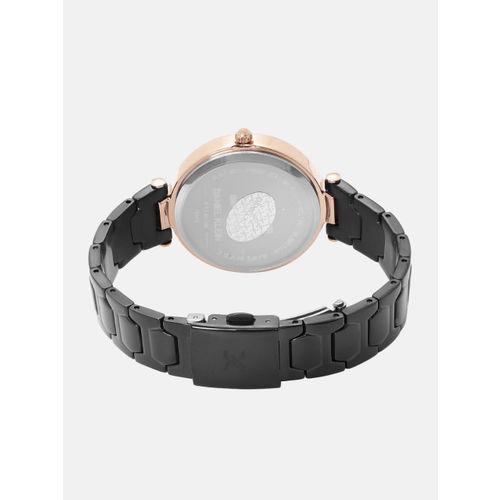 Daniel Klein Premium Women Gunmetal-Toned Analogue Watch DK12048-5