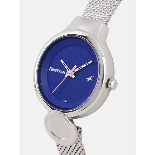 Fastrack Women Blue Analogue Watch 6181SM01