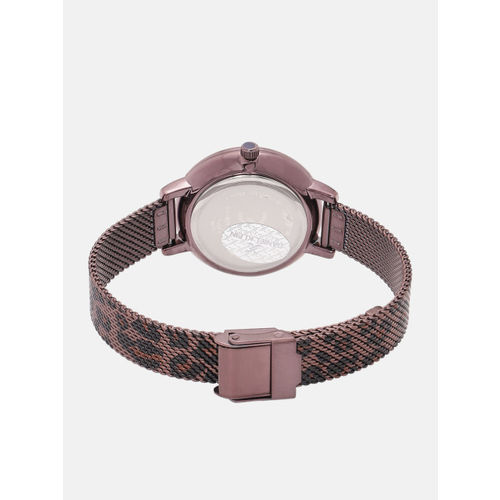 Daniel Klein Women Trendy Burgundy Analogue Watch 12074-4