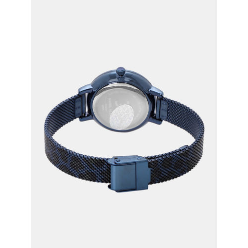 Daniel Klein Women Navy Blue Analogue Watch DK12074-6
