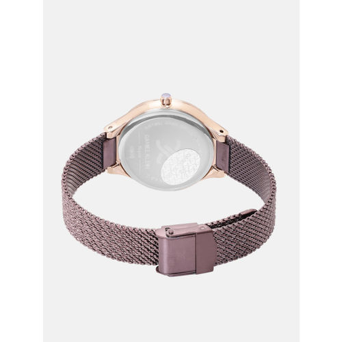 Daniel Klein Fiord Women Burgundy Analogue Watch 12075-5