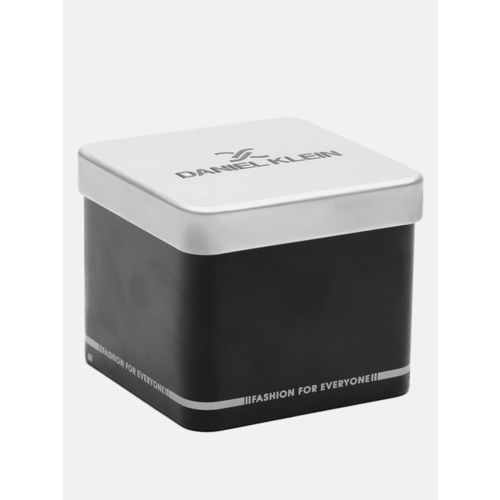 Daniel Klein Women Mauve & Silver-Toned Shimmer Analogue Watch DK12094-7
