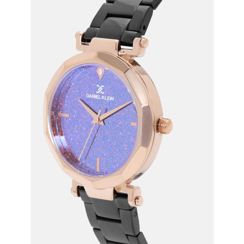 Daniel Klein Women Purple Shimmer Analogue Watch DK12083-6