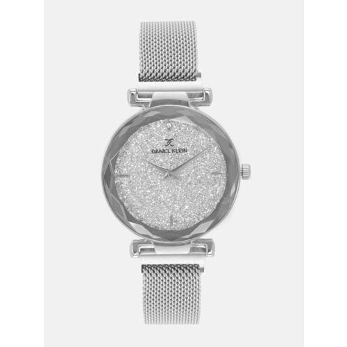 Daniel Klein Premium Women Silver-Toned Analogue Watch 12057-3