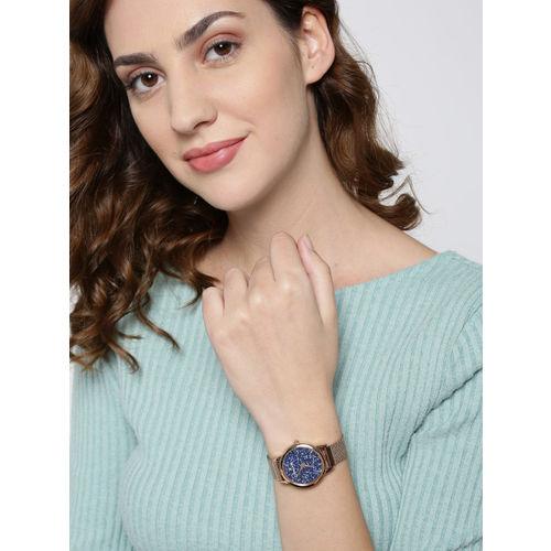 Daniel Klein Premium Women Navy Blue Analogue Watch 12040-6