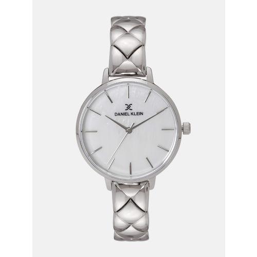 Daniel Klein Premium Women White Analogue Watch 12041-1