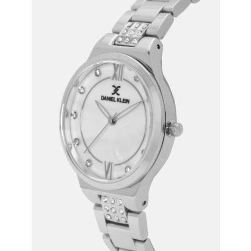 Daniel Klein Premium Women White Analogue Watch DK12069-1