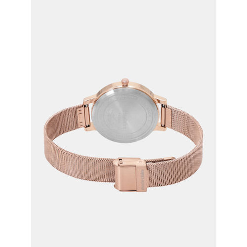 Marie Claire Women Rose Gold-Toned Analogue Watch MC 13D-A