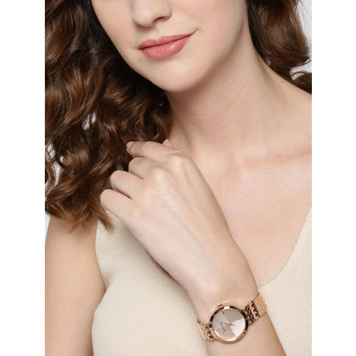 Marie Claire Women Rose Gold-Toned Analogue Watch MC 4A-A