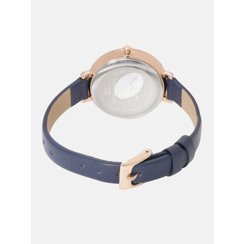 Daniel Klein Trendy Women Navy Blue Analogue Watch 12038-3