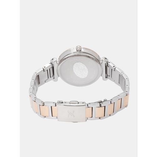 Daniel Klein Premium Women Blue & Silver-Toned Embellished Analogue Watch DK12042-6