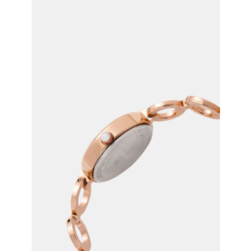 Marie Claire Women Gold-Toned Analogue Watch MC 9A-A