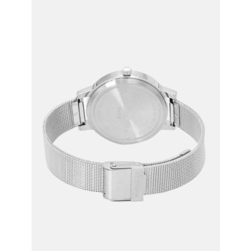 Marie Claire Women White Shimmer Analogue Watch MC 3B-A