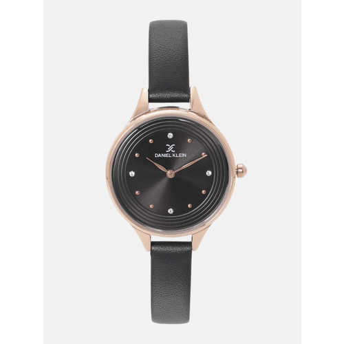 Daniel Klein Fiord Women Black Analogue Watch DK12037-6