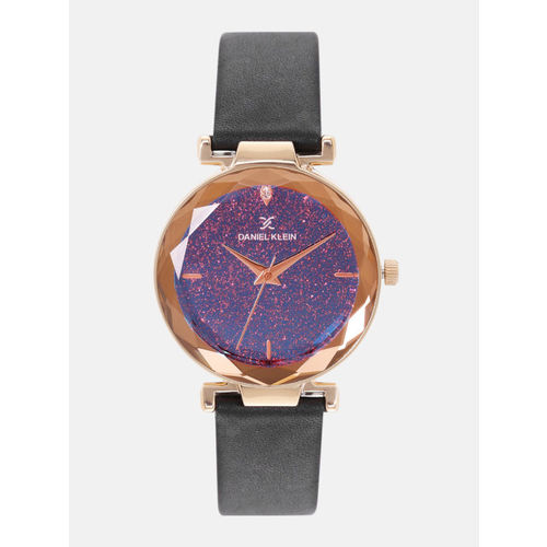 Daniel Klein Women Purple Analogue Watch DK12056-5