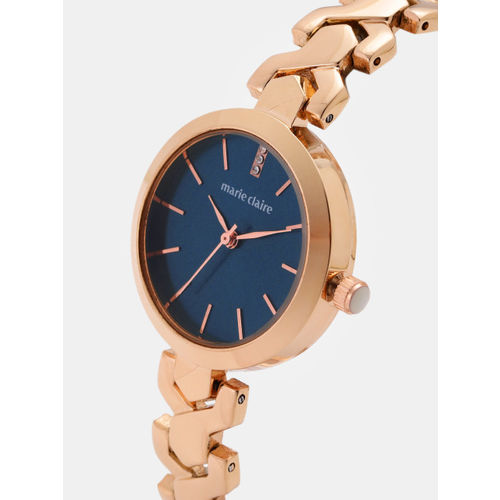 Marie Claire Women Navy Blue Analogue Watch MC 11C-A