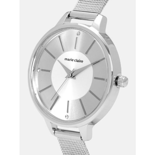 Marie Claire Women Silver-Toned Analogue Watch MC 1D-A