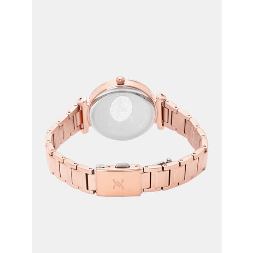 Daniel Klein Premium Women Silver-Toned & Rose Gold-Toned Analogue Watch 12042-2