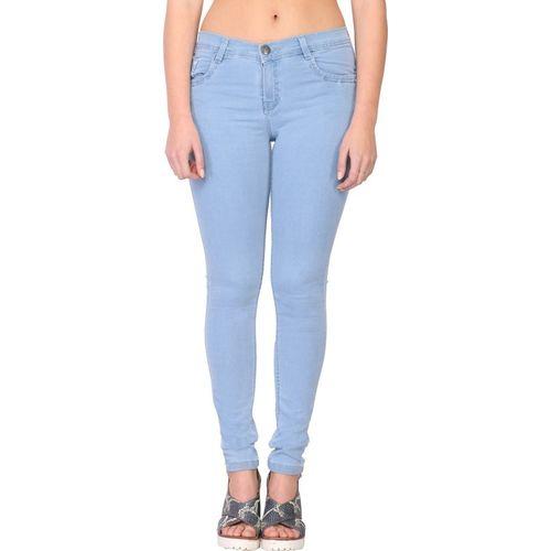 Sfine Slim Women Light Blue Jeans