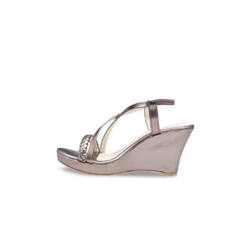 Nell Women Grey Solid Heels