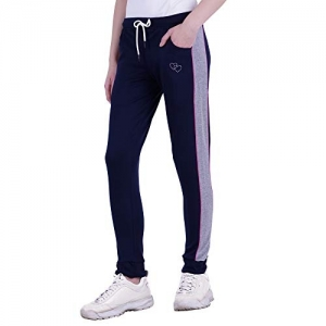 Trinity Jeans Company2.0 Women LUX Printed Cotton Track Pant Lower Gym Wear/Yoga Wear/Lounge Wear Ribbed Style