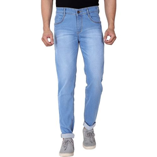 Ragzo Slim Men Light Blue Jeans