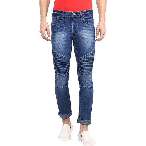 Urbano Fashion Slim Men Blue Jeans