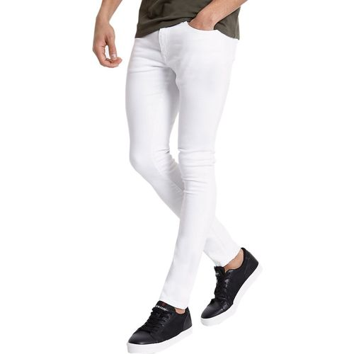 Lawson White Cotton Denim Slim Fit Casual Jeans