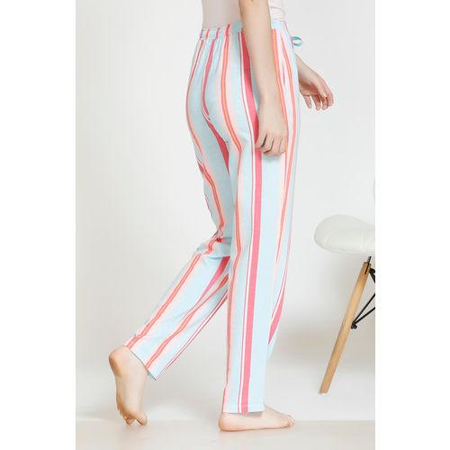 Zivame Pop Fresh Cotton Sleep Pyjama - Pink
