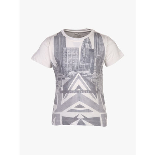 Pepe Jeans Off White T-Shirt
