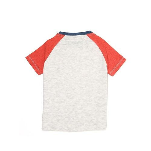 Pepe Jeans Kids Red & Grey Printed T-Shirt