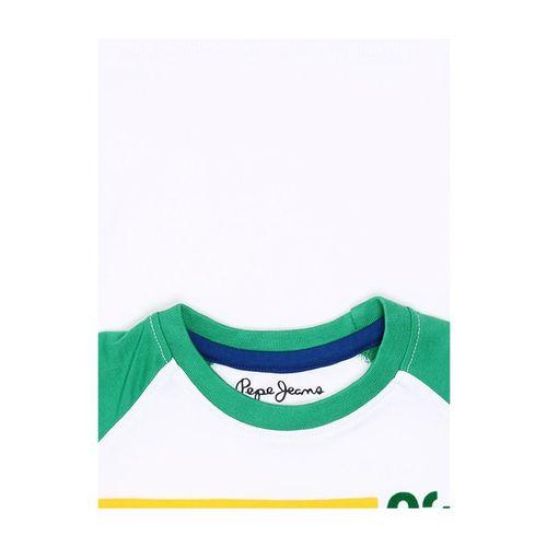 Pepe Jeans Kids White Striped T-Shirt