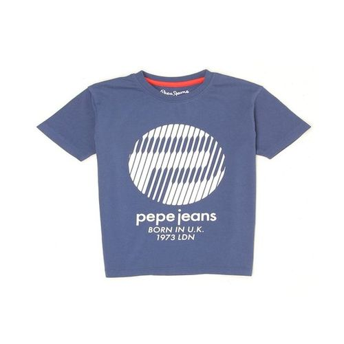 Pepe Jeans Kids Navy Graphic Print T-Shirt