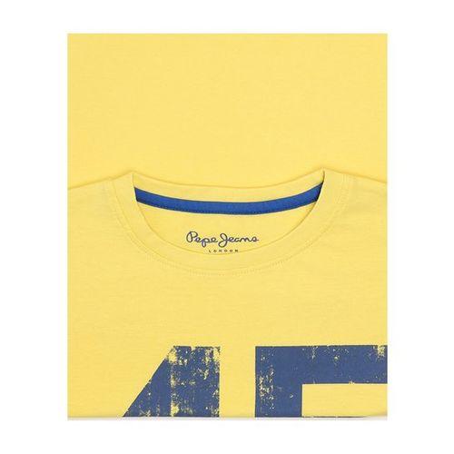 Pepe Jeans Kids Yellow Printed T-Shirt