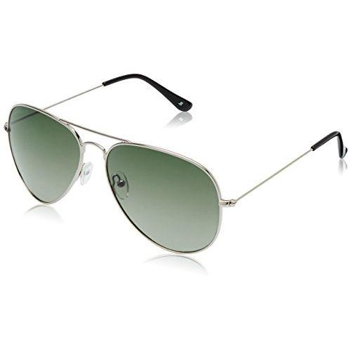 joe black Polarized Aviator Unisex Sunglasses - (JB-824-C12P|62|Green Color)