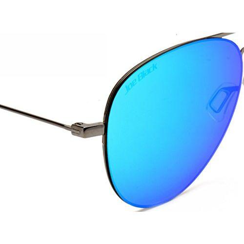 Joe Black Mirrored Aviator Unisex Sunglasses - (JB-812-C2|53|Blue Color)