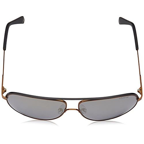 Polaroid Mirrored Aviator Unisex Sunglasses - (PLD 2054/S 210 60LM|60|Gold Color)