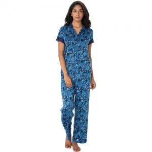 PrettySecrets Women Floral Print Multicolor Top & Pyjama Set