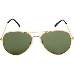 Saugat Traders Unisex Aviator Sunglasses (Golden) (ST0000291)