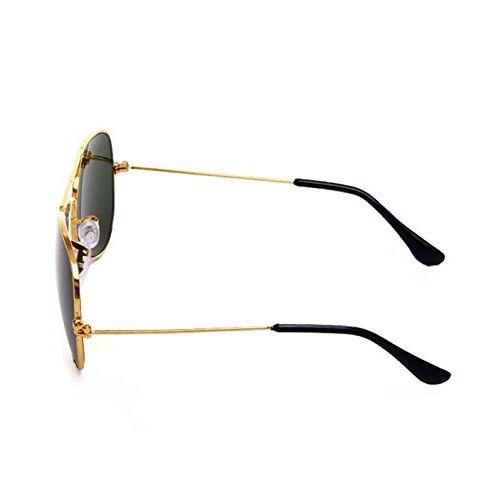 Saugat Traders Unisex Aviator Sunglasses (Golden) (ST0000291)