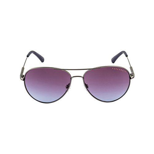Farenheit UV Protected Aviator Unisex Sunglasses - (SOC-FA-2331-C3|57|Grey Color Lens)